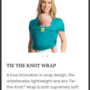 """Brand new LILLE BABY """"tie the knot"""" baby wrap"""